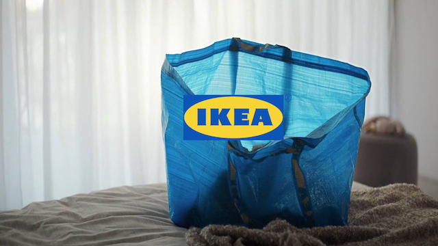 IKEA Blue Bag